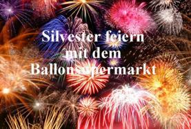 Silvesterdeko vom Ballonsupermarkt